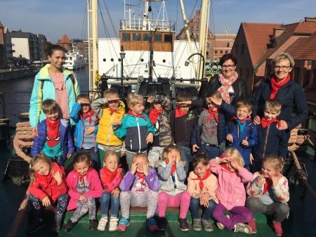 Wycieczka do Gdańska - Statek